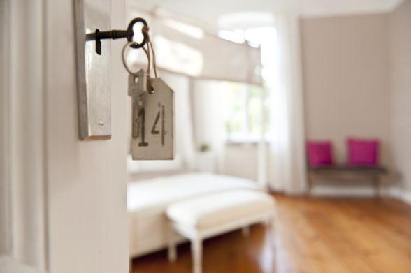 Zimmerschlüssel zum Glück